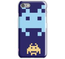 Space Invaders. Illustration of space aliens. Vector format. iPhone Case/Skin