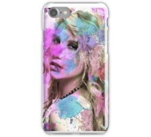 Ke$ha Water Color  iPhone Case/Skin
