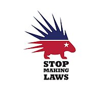 Stop Making Laws - Libertarian Party Photographic Print