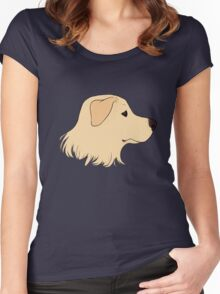 Yellow Labrador Women's Fitted Scoop T-Shirt