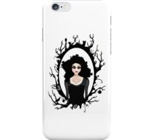 I keep my dark thoughts deep inside. iPhone Case/Skin