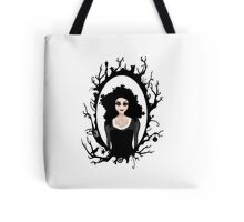 I keep my dark thoughts deep inside. Tote Bag