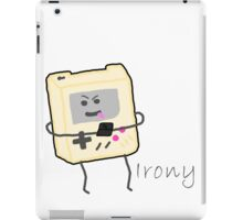 Gameboy Irony iPad Case/Skin