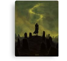 Dying alone Canvas Print