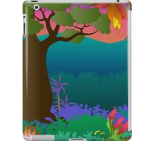 baobab tree scene iPad Case/Skin