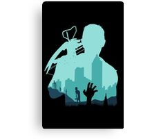 Sniping Zombies - 2 Canvas Print