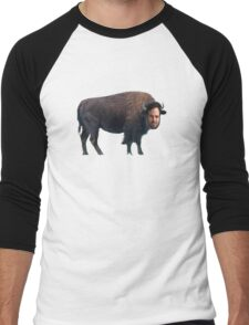 Mark Ruffalo? Mark Buffalo. Men's Baseball ¾ T-Shirt