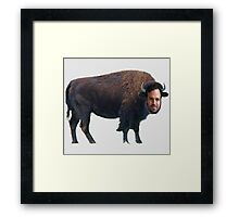 Mark Ruffalo? Mark Buffalo. Framed Print