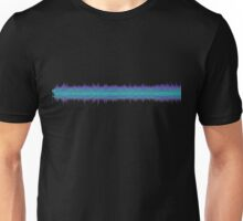 The Sound of Fear (Mono Glitch 2) Unisex T-Shirt