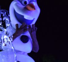 Olaf Paint the Night Sticker