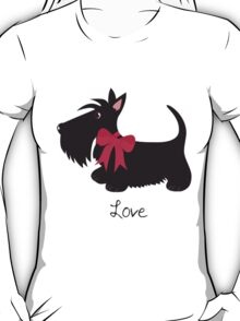 Love Scottie Dog T-Shirt