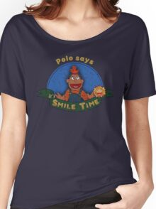 Polo says it's SMILE TIME Women's Relaxed Fit T-Shirt