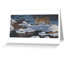 Interrupted Silence Greeting Card