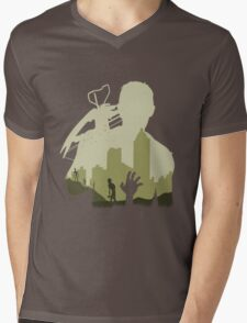 Sniping Zombies Mens V-Neck T-Shirt