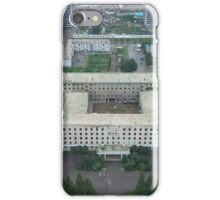 Pyongyang city view from the tower of the Juche idea iPhone Case/Skin