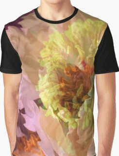 Luscious Peonies Graphic T-Shirt