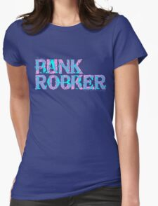 Bank Robber/Punk Rocker Womens Fitted T-Shirt