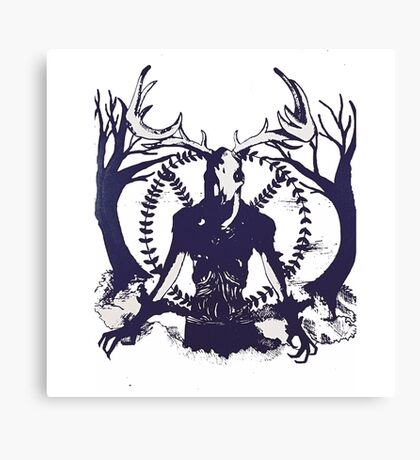 Peaceful Creature Canvas Print
