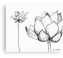 Lotus XII Canvas Print