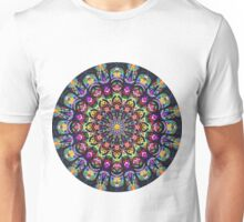 COLORFUL PSYCHEDELIC MANDALA Unisex T-Shirt