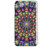 COLORFUL PSYCHEDELIC MANDALA iPhone Case/Skin