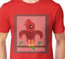 A Cardinal Made of Circles Unisex T-Shirt