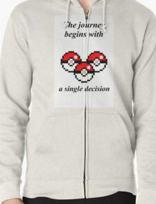 The Journey Zipped Hoodie