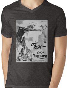 Retro triumph Mens V-Neck T-Shirt