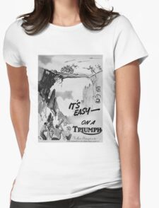 Retro triumph Womens Fitted T-Shirt