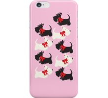 Scottie Dog iPhone/iPod case – pink iPhone Case/Skin