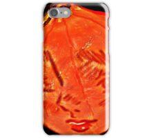 Meet Miss Pumpkin Face iPhone Case/Skin