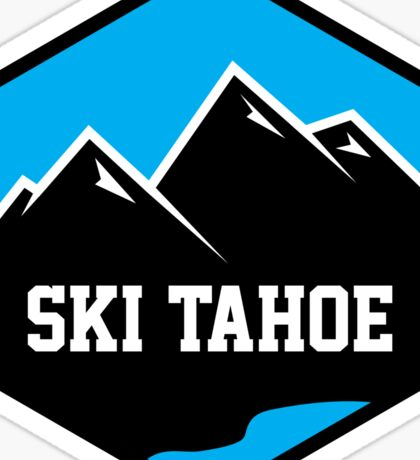 Ski Tahoe Badge Sticker