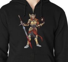 The Shining Lady Zipped Hoodie