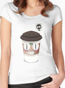 Smug Coffee Mug Women's Fitted Scoop T-Shirt