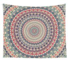 Mandala 137 Wall Tapestry