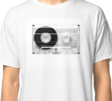 cassette  illustration - black and white tape  Classic T-Shirt