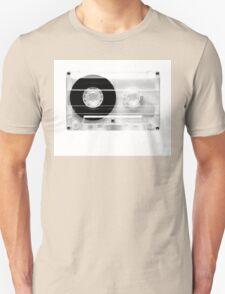 cassette  illustration - black and white tape  Unisex T-Shirt