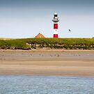 Lighthouse in Nieuwpoort Belgium. by VanOostrum