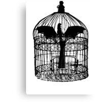 Caged Batgirl  Canvas Print