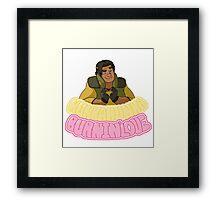 HunkaHunka' Burnin' Love Framed Print