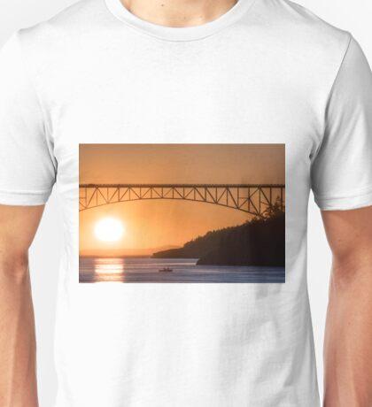 Deception Pass Final Sunset Summer 2016 (1) Unisex T-Shirt