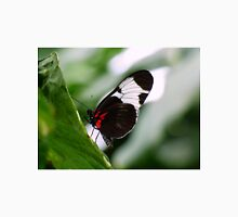 Black, White, and Red Brazilian Butterfly Unisex T-Shirt