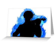 Sherlock Watercolor Greeting Card