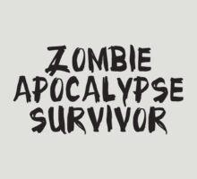 Zombie Apocalypse Survivor by DesignFactoryD