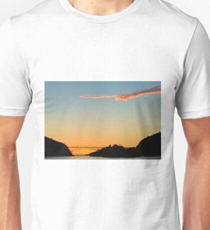 Deception Pass Final Sunset Summer 2016 (3) Unisex T-Shirt