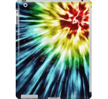 Abstract Dark Tie Dye iPad Case/Skin