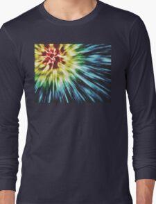 Abstract Dark Tie Dye T-Shirt