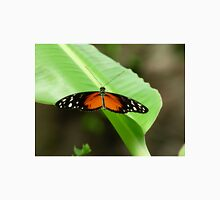 Orange, Black, and White South American Butterfly Unisex T-Shirt