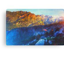 Himalaya Mountain View Canvas Print