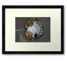 Carrick Crossroads, Donegal - Sky In Framed Print